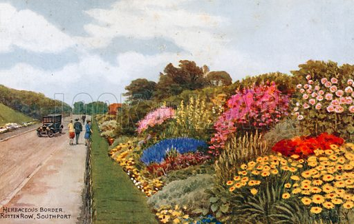 Herbaceous Border, Rotten Row, Southport