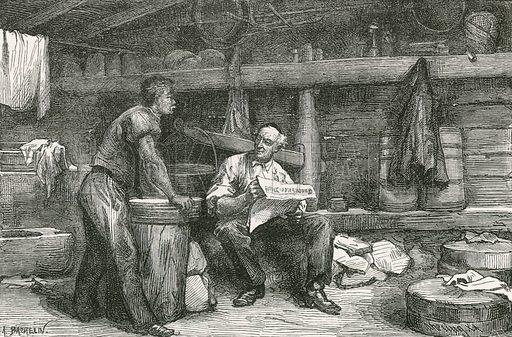 Scene in a Cheese-Making Hut