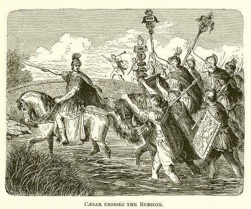 Caesar crosses the Rubicon