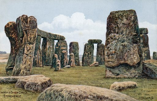Inner and Outer Circle, Stonehenge