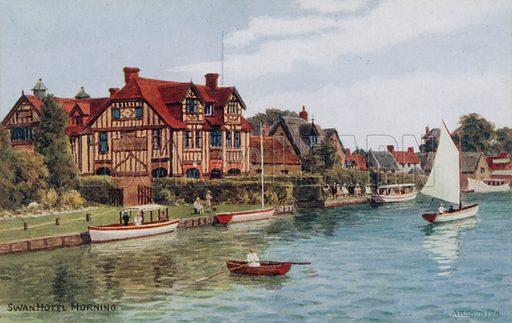 Swan Hotel, Horning.