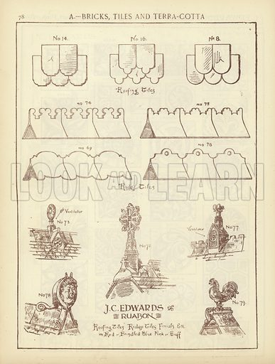Page from The Architect's, Surveyor's and Engineer's Compendium 1892 (James Sears).