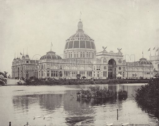 The Government Building. Illustration for The Dream City, A Portfolio of Photographic Views of The World's Columbian Exposition (ND Thompson, 1893).