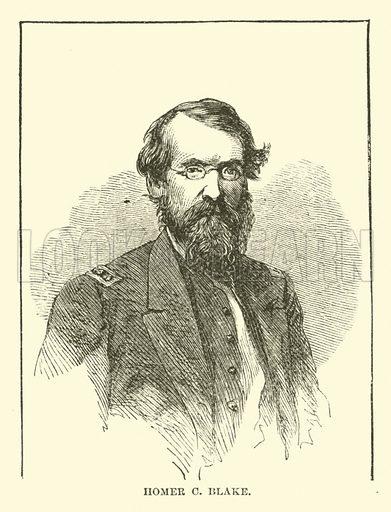 Homer C Blake, January 1863. Illustration for Harper's Pictorial History of the Civil War (McDonnell Bros, 1886).