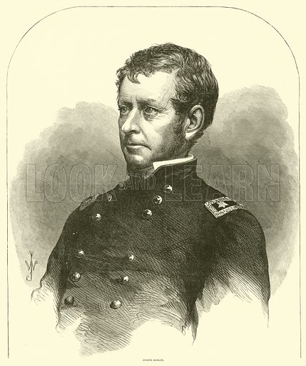 Joseph Hooker, January-April 1863. Illustration for Harper's Pictorial History of the Civil War (McDonnell Bros, 1886).