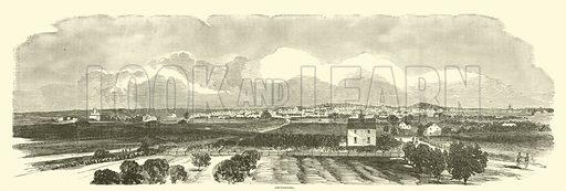 Gettysburg, July 1863. Illustration for Harper's Pictorial History of the Civil War (McDonnell Bros, 1886).