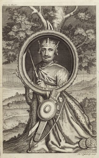 Portrait of William II of England