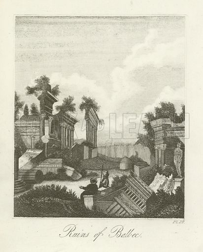 Ruins of Balbec. Illustration for The Good Child