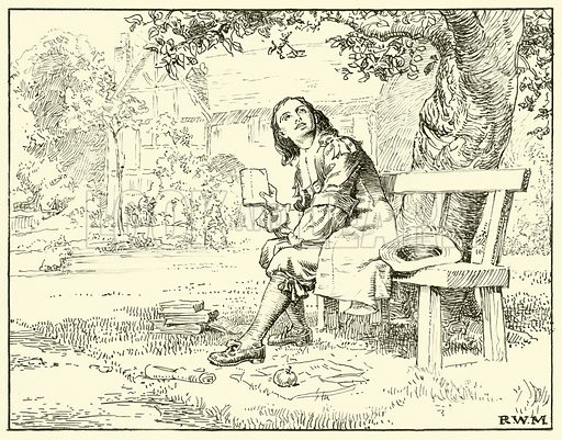 Newton and the Apple