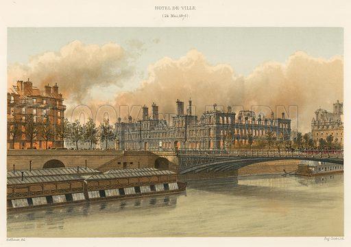 Paris commune, picture, image, illustration