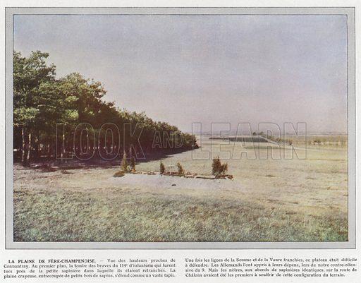 La Plaine de Fere-Champenoise. Illustration for Les Champs de Bataille de la Marne (Paris, 1915).