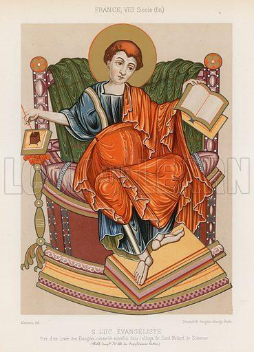 Saint Luke, picture, image, illustration