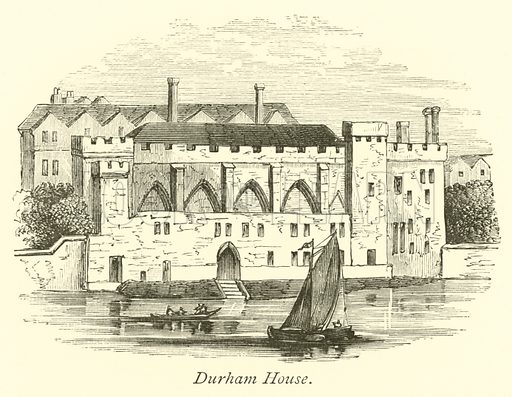 Durham House. The Thames from its Rise to the Nore by Walter Armstrong (Virtue, c 1885).