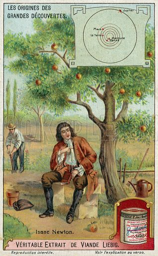 Isaac Newton and gravity
