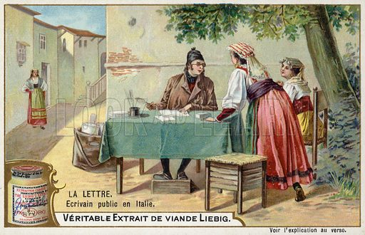 Public letter writer, Italy