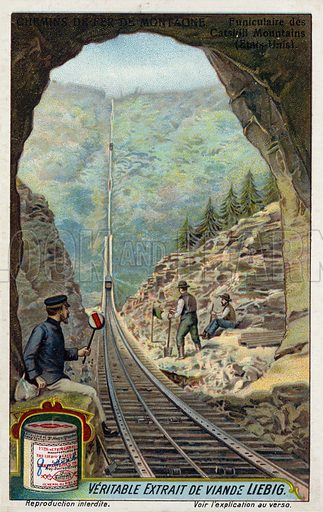 Funicular, picture, image, illustration