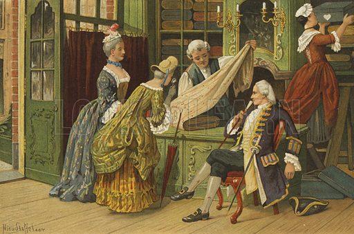 Shop, Netherlands, 1st half of 18th Century