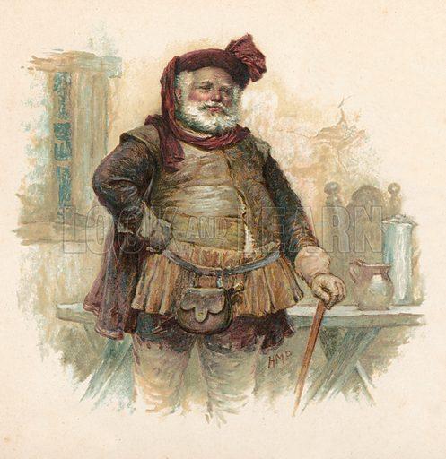 Falstaff, picture, image, illustration
