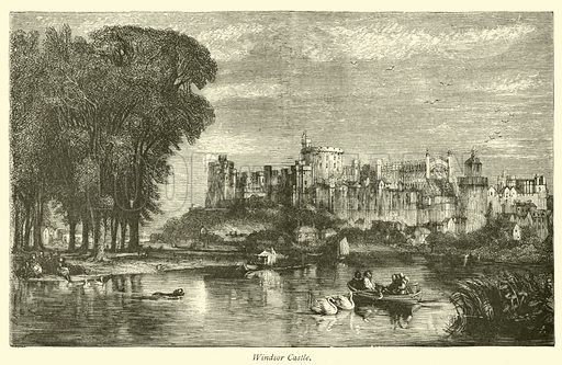Windsor Castle. The Thames from its Rise to the Nore by Walter Armstrong (Virtue, c 1885).
