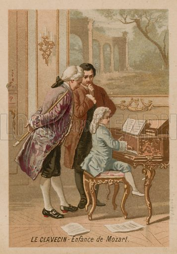 The clavichord: the childhood of Mozart