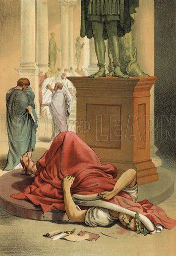 Death of Julius Caesar, Rome, 44 BC
