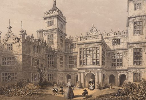 Charlton House, Wilts. Printed by Day & Son.