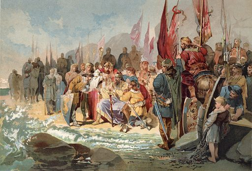 Canute Commanding the Waves
