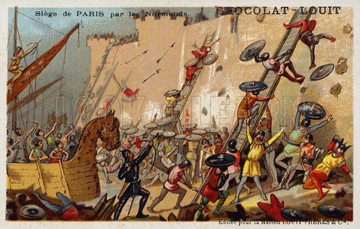 Siege of Paris, picture, image, illustration