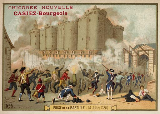 Storming of the Bastille, Paris, 14 July 1789