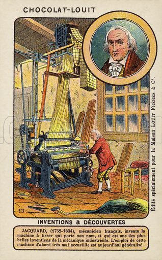 Joseph Marie Jacquard, French weaver and merchant - Look and