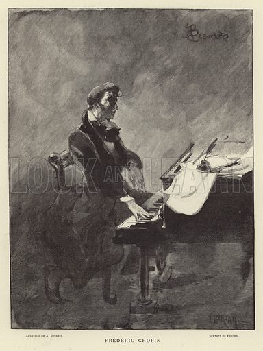 Frederic Chopin, Polish pianist and composer