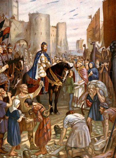 William Rufus at the Tower of London