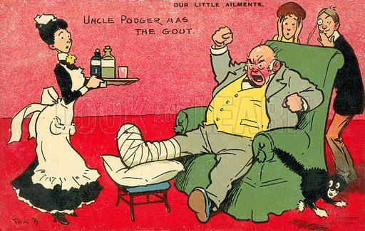 Our Little Ailments, Uncle Podger Has The Gout