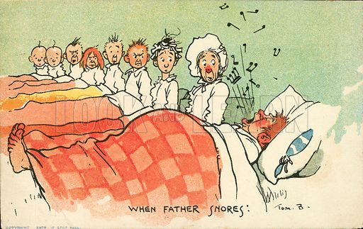 When Father Snores