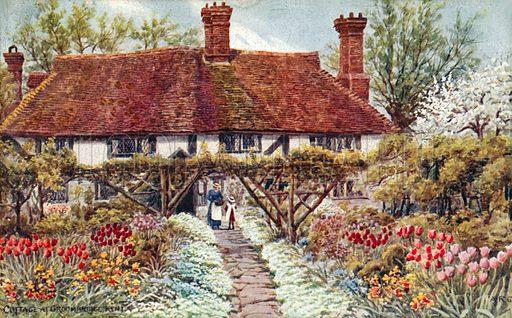 Cottage at Groombridge, Kent.