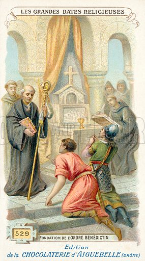 Benedictines, picture, image, illustration