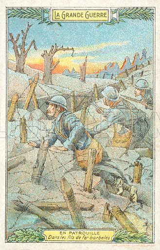 WW1, picture, image, illustration