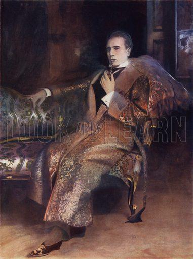 Mr William Gillette in Sherlock Holmes