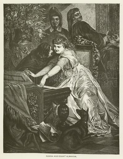 Rosina and Count Almaviva.