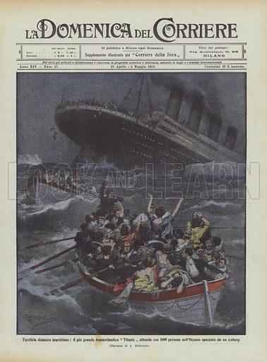 Terribile disastro marittimo, il piu grande transatlantico Titanic affonda con 1600 persone …