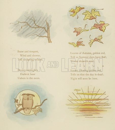 Illustration for Symbols and Metaphors by Cynicus (His Studio, 1892).