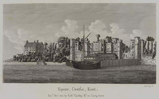Upnor, Castle, Kent. Illustration for The Antiquarian Repertory by Francis Grose and others (new edn, Edward Jeffery, 1807ff).