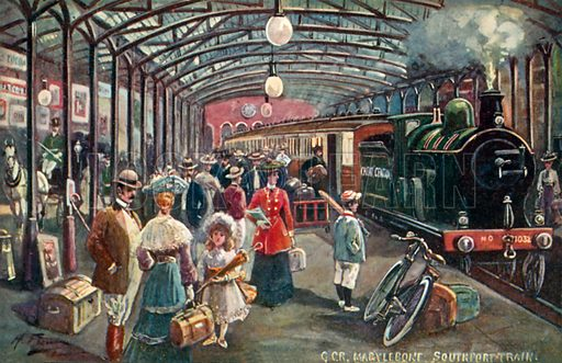 GCR, Marylebone, Southport Train