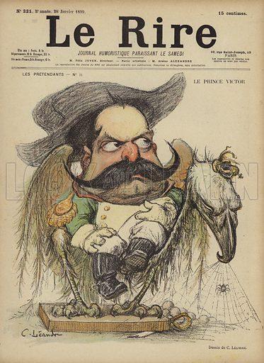 Le Prince Victor, Illustration for Le Rire