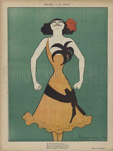 Illustration for Le Rire, 14 April 1900.