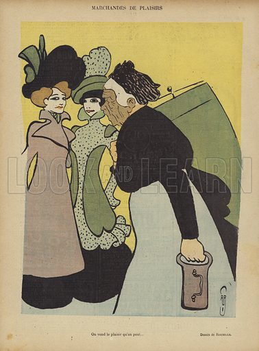 Illustration for Le Rire, 5 May 1900.