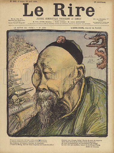Li Hung Chang, Illustration for Le Rire