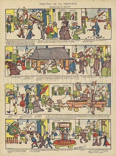 Illustration for Le Rire, 24 November 1900.