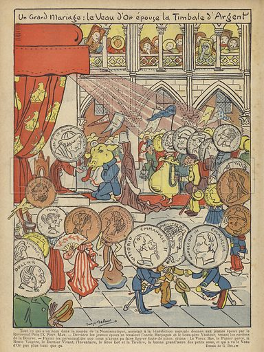 Illustration for Le Rire, 19 October 1901.