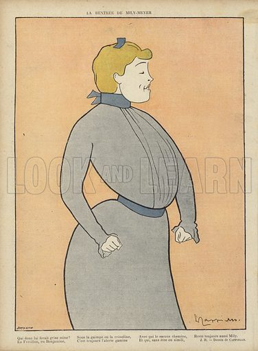 Illustration for Le Rire, 4 January 1902.